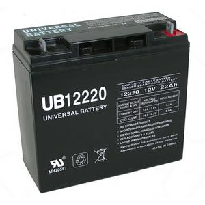 Universal Power Sport 12 Volt 22AH T4 Sealed AGM Battery (40696)
