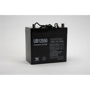 Universal 12 Volt 55AH Sealed AGM Battery (UB12550) Size 22NF