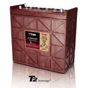 Trojan J185H-AC: 12V Deep Cycle Flooded Battery with T2 Technology, 1,200 CYCLES @ 50% DOD