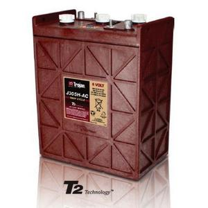 Trojan J305H-AC: 6V Deep Cycle Flooded Battery with T2 Technology, 1,200 CYCLES @ 50% DOD