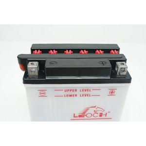 LEOCH Power Sport 12V  (LB9L-A2), Conventional Battery with Acid Pack