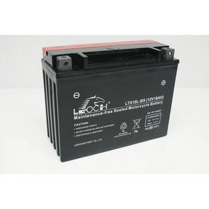 LEOCH Power Sport 12 Volt Battery (LTX18L-BS), Dry Charged AGM Maintenance Free