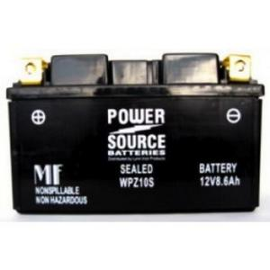 Power Source    12 Volt  Battery (WPZ10S),  Sealed AGM