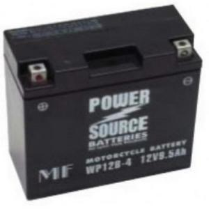 Power Source    12 Volt  Battery (WP12B-4),  Sealed AGM