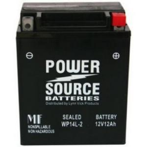 Power Source    12 Volt  Battery (WP14L-2),  Sealed AGM