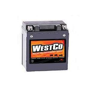 WestCo Power Sport 12 Volt  Battery (YB14-A2 / YB14-B2 / YTX14AH-BS / YB14A-A1 / YB14A-A2)