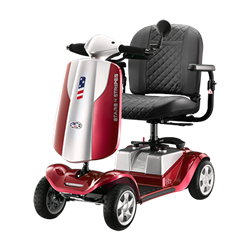 Stars N Stripes Lite 4-Wheel Scooter (Red)