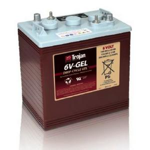 Trojan- 6V-GEL: Deep-Cycle GEL Battery), 1,000 CYCLES @ 50% DOD