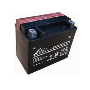 LEOCH Power Sport 12 Volt Battery (LTX12L-BS), Dry Charged AGM Maintenance Free