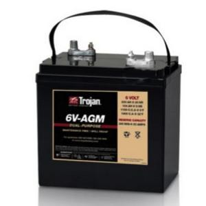 The Battery and Scooter Store - Trojan- 6V-AGM (6Volt Deep